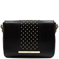 Черная сумка Ripani с декором-заклепками, фото