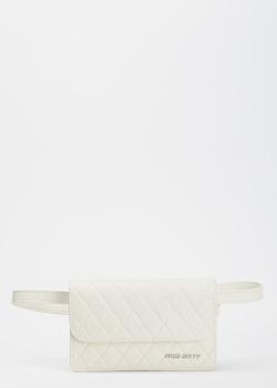 Поясная сумка Miss Sixty белого цвета, фото