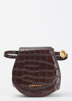 Поясная сумка Miss Sixty из кожи с тиснением, фото