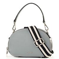 Серая сумка Cromia Perla с двумя отделениями, фото