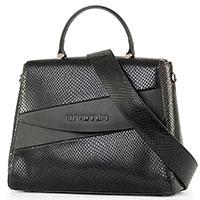 Сумка-портфель Cromia Perla Lux черного цвета, фото