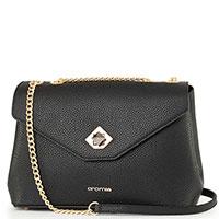 Черная сумка Cromia Mina на цепочке, фото