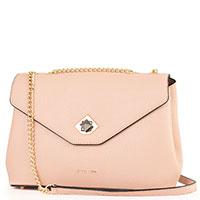 Бежевая сумка Cromia Mina на цепочке, фото