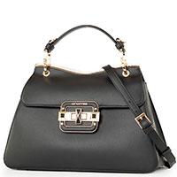 Сумка-портфель Cromia Blush в черном цвете, фото