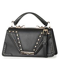 Женская сумка-портфель Cromia Wonder с декором-заклепками, фото