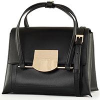 Сумка-портфель Cromia Romy черная, фото