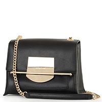 Черная сумка Cromia Romy на цепочке, фото
