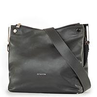 Женская сумка Cromia Attractive из темно-серой кожи, фото