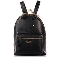 Черный рюкзак Twin-Set My Twin с перфорацией, фото