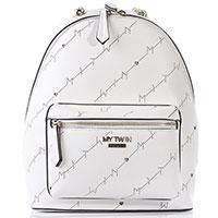 Белый рюкзак Twin-Set My Twin с перфорацией, фото