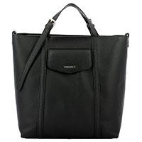 Черная сумка Twin-Set с накладным карманом, фото