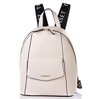 Женский рюкзак Twin-Set в белом цвете, фото