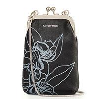 Клатч Cromia Wallet Funny Flower на цепочке с цветочным узором, фото