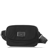 Поясная сумка Lancaster Basic Verni черного цвета, фото