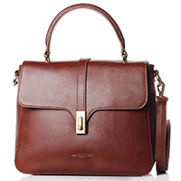 Сумка-портфель Lancaster Lеgende Horizon коричневого цвета, фото
