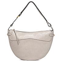 Женская сумка Gianni Chiarini Ginevra из бежевой фактурной кожи, фото