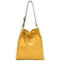 Женская сумка-мешок Gianni Chiarini Memory желтого цвета, фото