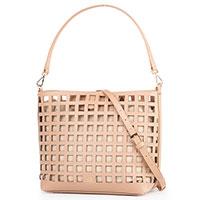 Женская сумка Cavalli Class Tessa светло-коричневого цвета, фото