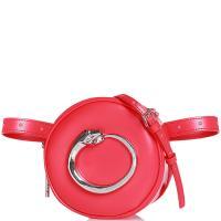 Красная сумка  Cavalli Class Petite круглой формы, фото