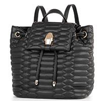 Черный рюкзак Cavalli Class Nives с плетением, фото