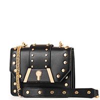 Черная сумка Baldinini Dorothy на цепочке, фото