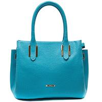 Голубая сумка Ripani с металлически декором, фото