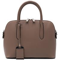 Коричневая сумка Ripani со съемным брендовым брелоком, фото