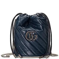 Женская сумка Gucci в синем цвете, фото