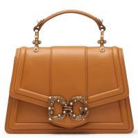 Женская сумка Dolce&Gabbana DG Amore цвета охры, фото