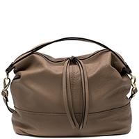 Коричневая сумка Ripani Afrall с двойным наплечным ремнем, фото