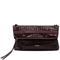 Бордовая сумка Ripani на ручке-цепочке, фото
