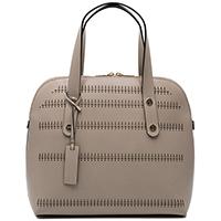 Бежевая сумка Ripani Livenza из гладкой кожи, фото
