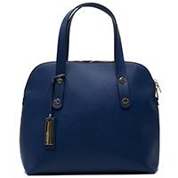 Синяя сумка Ripani с тиснением сафьяно, фото