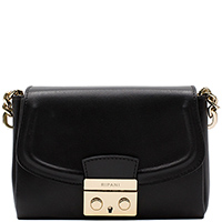 Маленькая сумка Ripani Gressa черного цвета, фото
