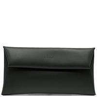 Сумка-клатч Ripani Pochette из кожи черного цвета, фото