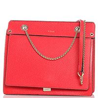 Красная сумка Furla Like прямоугольной формы, фото