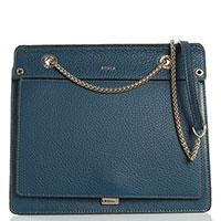 Женская маленькая сумка Furla Like из зернистой кожи, фото