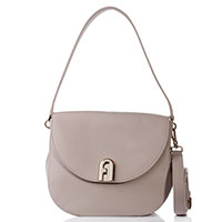 Женская сумка Furla из бежевой кожи, фото