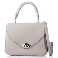 Сумка-портфель Furla белого цвета, фото