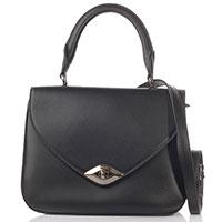 Женская сумка-портфель Furla черного цвета, фото