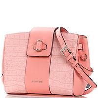 Розовая сумка Cromia Mali с животным принтом, фото