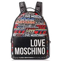 Женский рюкзак Love Moschino черный с логотипом, фото