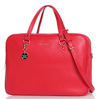 Деловая сумка Coccinelle красного цвета, фото