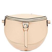 Женская поясная сумка Coccinelle бежевого цвета, фото