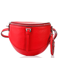 Поясная сумка Coccinelle красного цвета, фото