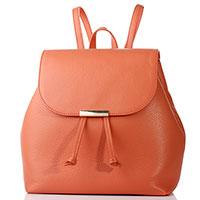 Рюкзак Coccinelle морковного цвета, фото