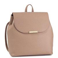 Женский рюкзак Coccinelle из коричневой кожи, фото