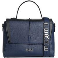 Сумка-портфель Ferre Collezioni Amur синего цвета, фото