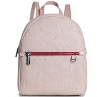 Рюкзак Ferre Collezioni Talia бежевый с розовым оттенком, фото