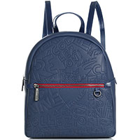 Синий рюкзак Ferre Collezioni Talia со съемным кошельком, фото